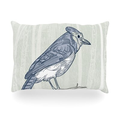 Jay Outdoor Throw Pillow Size: 14 H x 20 W x 3 D