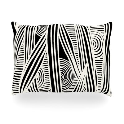 Emine Ortega Graphique Outdoor Throw Pillow Size: 14 H x 20 W x 3 D