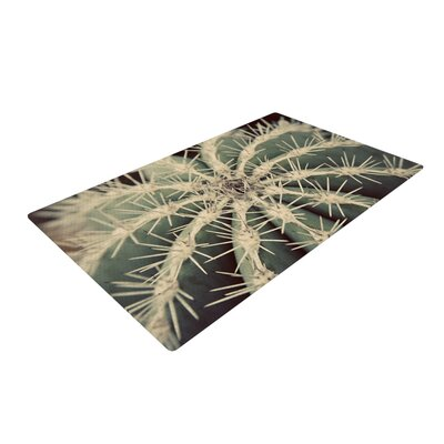 Angie Turner Cactus Plant Green Area Rug Rug Size: 2 x 3