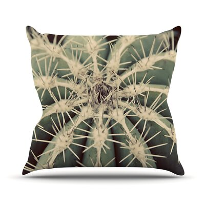 Cactus Plant Throw Pillow Size: 20 H x 20 W x 1 D