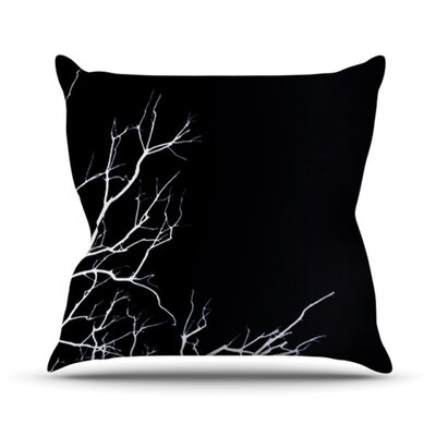 Winter Throw Pillow Size: 18 H x 18 W, Color: Black