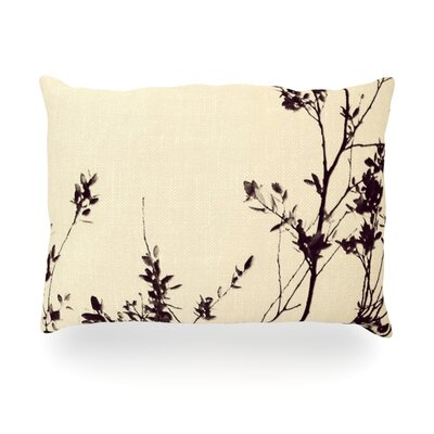 Silhouette Outdoor Throw Pillow Size: 14 H x 20 W x 3 D