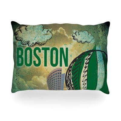Boston Outdoor Throw Pillow Size: 14 H x 20 W x 3 D