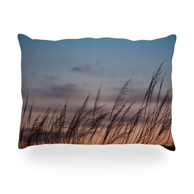Sunset on the Beach Outdoor Throw Pillow Size: 14 H x 20 W x 3 D