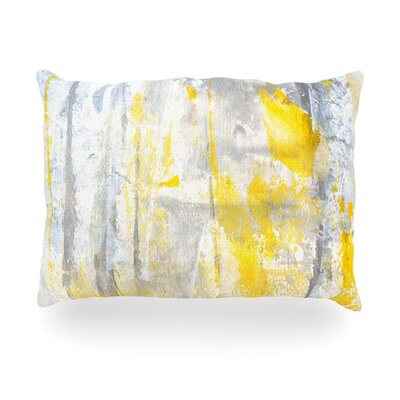 Abstraction Outdoor Throw Pillow Size: 14 H x 20 W x 3 D