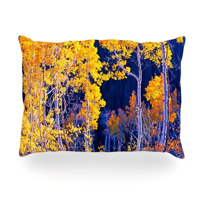 Trees Outdoor Throw Pillow Size: 14 H x 20 W x 3 D