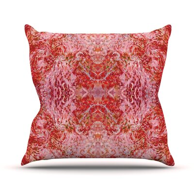 Chili by Nikposium Throw Pillow Size: 18 H x 18 W x 3 D