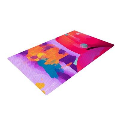 Vespa II Pink/Purple Area Rug Rug Size: 2 x 3