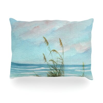 Sea Oats Outdoor Throw Pillow Size: 14 H x 20 W x 3 D