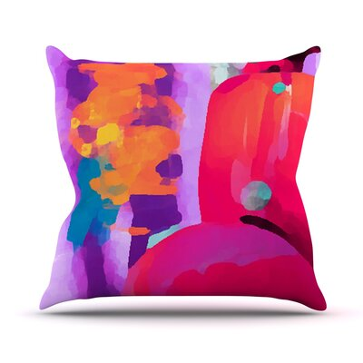 Vespa II Outdoor Throw Pillow Size: 14