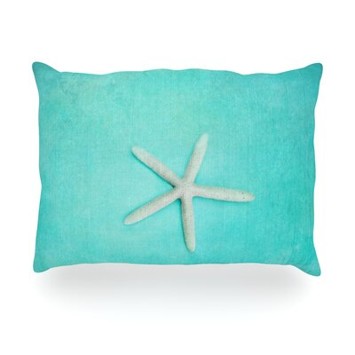 Starfish Outdoor Throw Pillow Size: 14 H x 20 W x 3 D