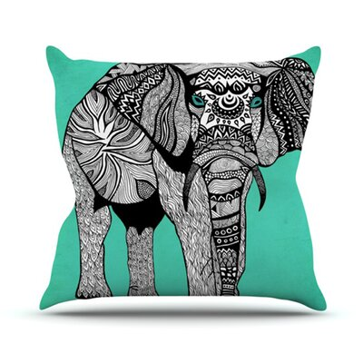 Elephant of Namibia Outdoor Throw Pillow Size: 20 H x 20 W x 4 D