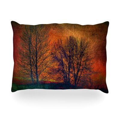 Silhouettes Outdoor Throw Pillow Size: 14 H x 20 W x 3 D