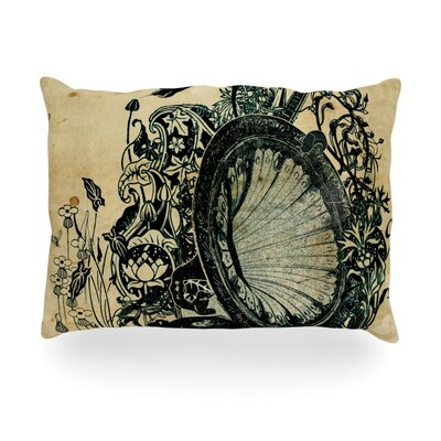 "Kess InHouse Sound of Nature Outdoor Throw Pillow - Size: 14"" H x 20"" W x 3"" D at Sears.com"