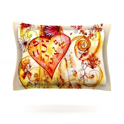 Marianna Tankelevich Tree of Love Featherweight Sham Size: Standard, Fabric: Cotton