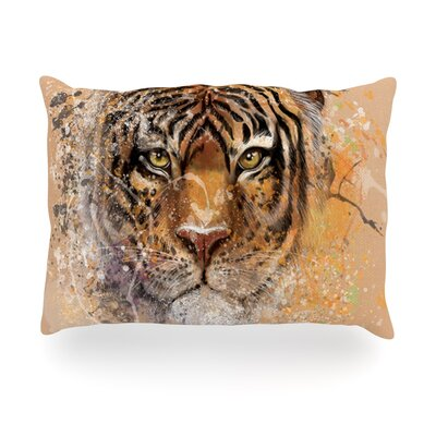 My Tiger Outdoor Throw Pillow Size: 14 H x 20 W x 3 D