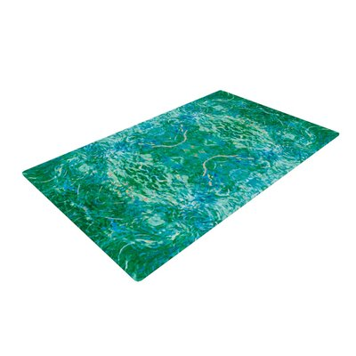 Eden Teal/Green Area Rug Rug Size: 2 x 3