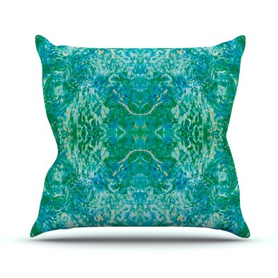 Eden by Nikposium Throw Pillow Size: 18 H x 18 W x 3 D