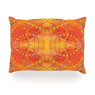 Sunrise Outdoor Throw Pillow Size: 14 H x 20 W x 3 D
