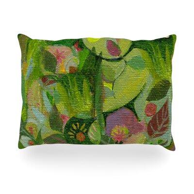 Jungle Outdoor Throw Pillow Size: 14 H x 20 W x 3 D