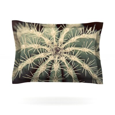Angie Turner Cactus Plant Featherweight Sham Size: Standard