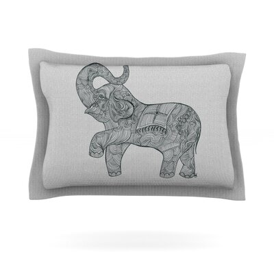 Belinda Gillies Elephant Featherweight Sham Size: King
