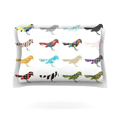 Belinda Gillies Birds Featherweight Sham Size: King