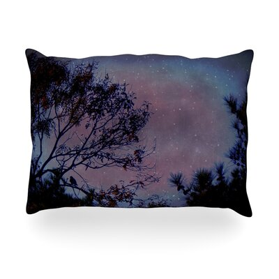 Twilight Tree Outdoor Throw Pillow Size: 14 H x 20 W x 3 D