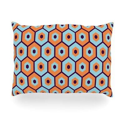 Busy Outdoor Throw Pillow Size: 14 H x 20 W x 3 D