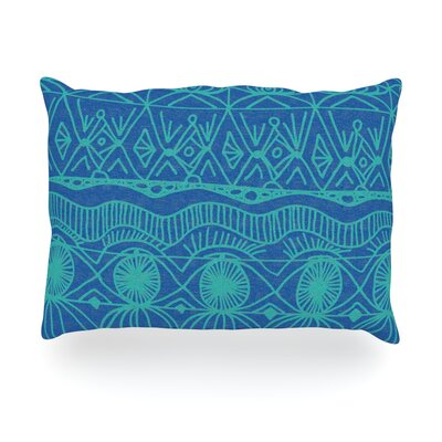 Beach Blanket Confusion Outdoor Throw Pillow Size: 14 H x 20 W x 3 D