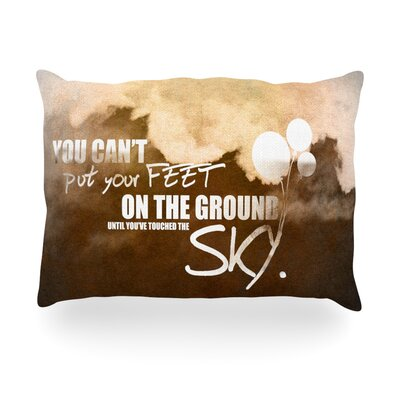 Touch the Sky Outdoor Throw Pillow Size: 14 H x 20 W x 3 D