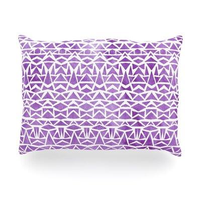 Tribal Mosaic Outdoor Throw Pillow Size: 14 H x 20 W x 3 D