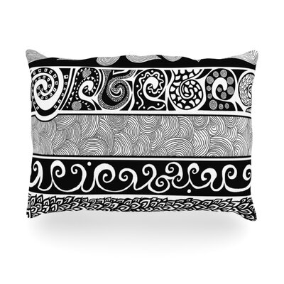 Tribal Evolution Indoor/Outdoor Throw Pillow Size: 14 H x 20 W x 3 D