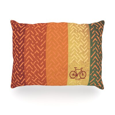 Lost Outdoor Throw Pillow Size: 14 H x 20 W x 3 D