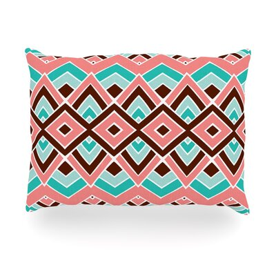 Eclectic Outdoor Throw Pillow Size: 14 H x 20 W x 3 D