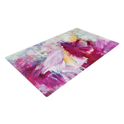 Magenta Indoor/Outdoor Area Rug Rug Size: 2 x 3