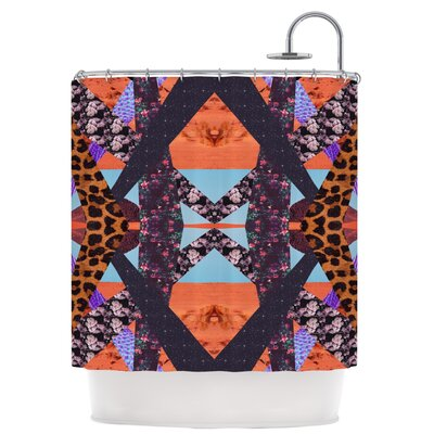 Pillow Kaleidoscopic Shower Curtain
