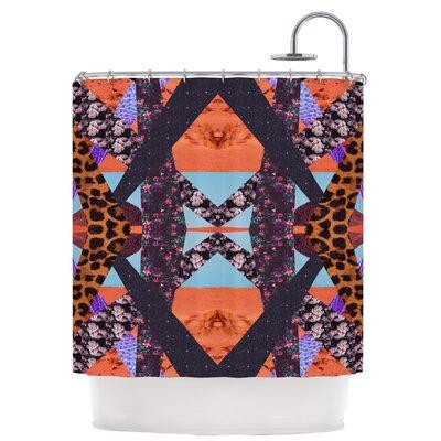 Pillow Kaleidoscopic Shower Curtain