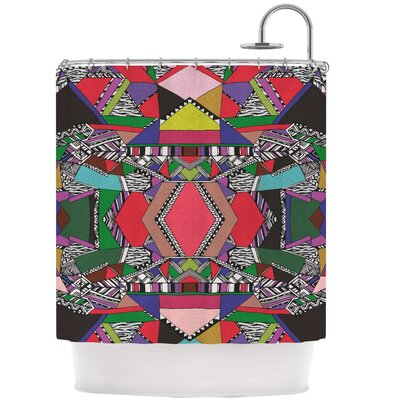 African Motif Shower Curtain