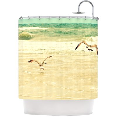 Karate Kid Pose Shower Curtain