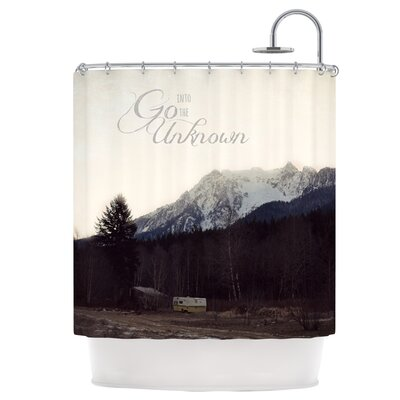 Go into The Unknown Shower Curtain