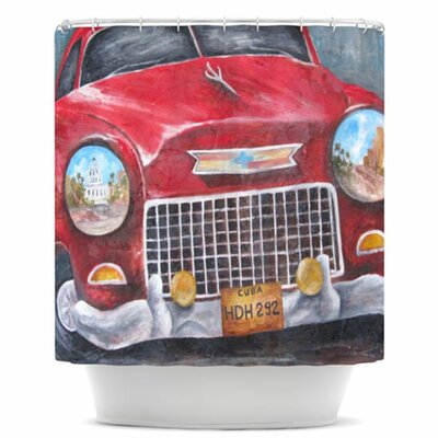 Vintage in Cuba Shower Curtain