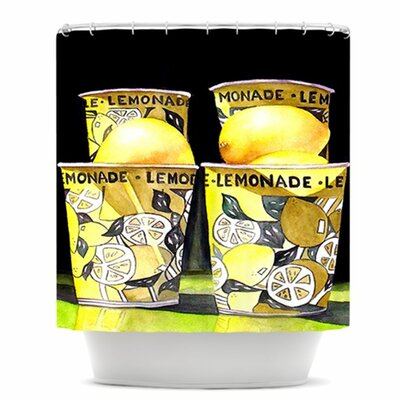 Lemonade Shower Curtain