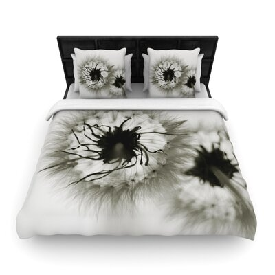 Wishes by Skye Zambrana Woven Duvet Cover Size: Twin