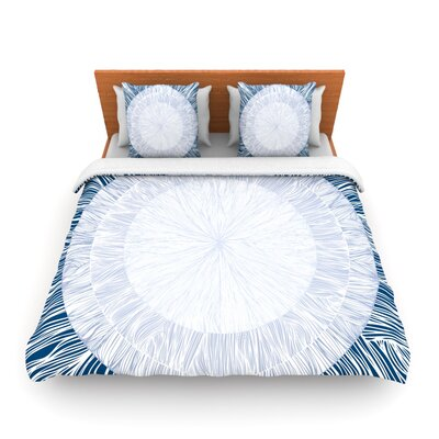 Pulp by Anchobee Featherweight Duvet Cover Size: Twin, Fabric: Lightweight Polyester