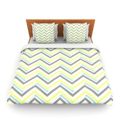 Ideal by CarolLynn Tice Woven Duvet Cover Size: Queen