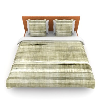 Simplicity by CarolLynn Tice Woven Duvet Cover Size: King/California King