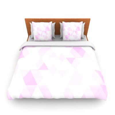 Aspire by CarolLynn Tice Woven Duvet Cover Size: Twin