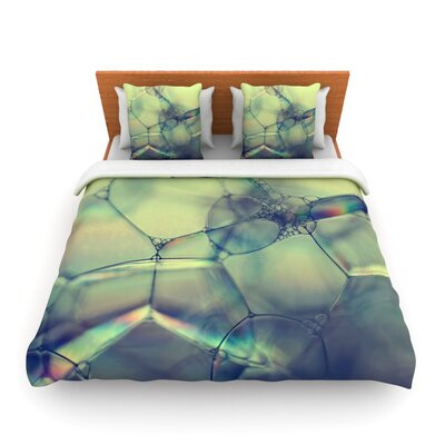 Bubblicious by Ingrid Beddoes Featherweight Duvet Cover Size: Queen, Fabric: Woven Polyester