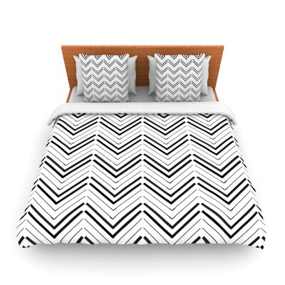 Distinct by CarolLynn Tice Woven Duvet Cover Size: Twin